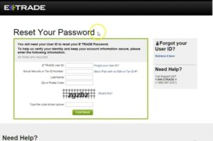 Etrade Login: Sign In, Sign Up, Account Recovery | Etrade