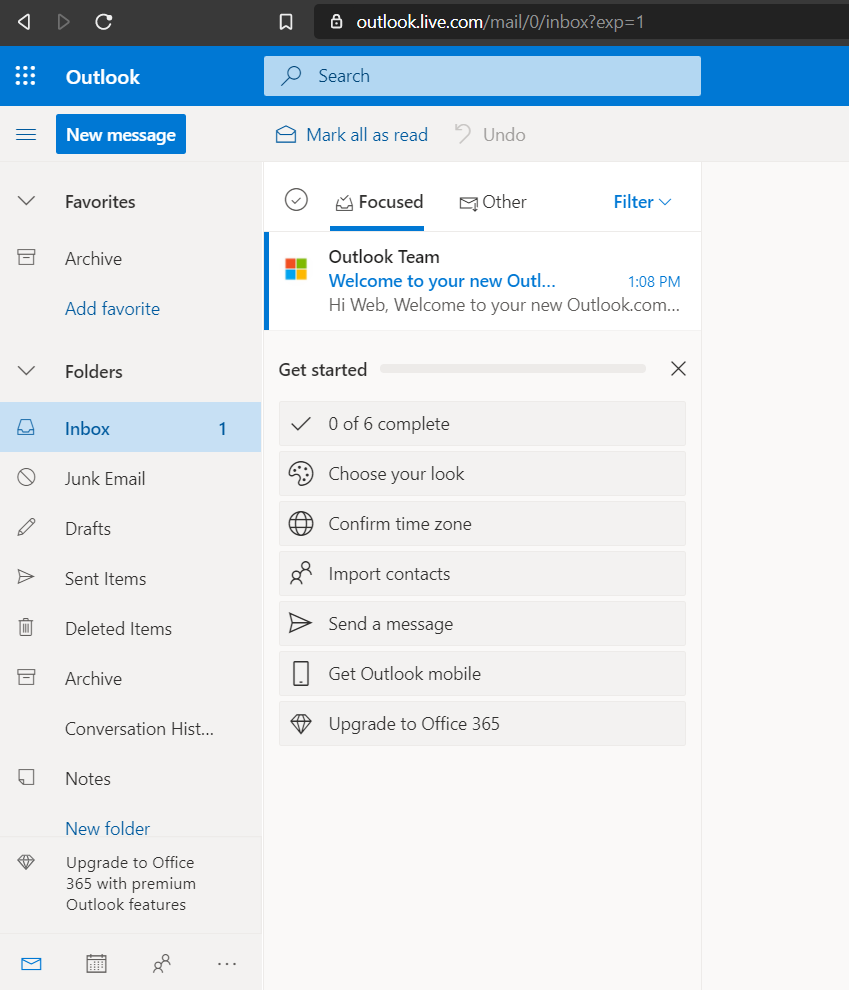 picture-of-dashboard-of-outlook.com-mail